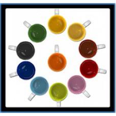 Hrnček s potlačou  farebné vnútro